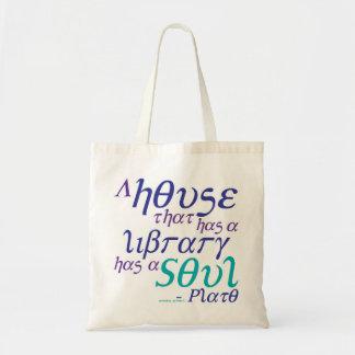 Plato Library Book Quote