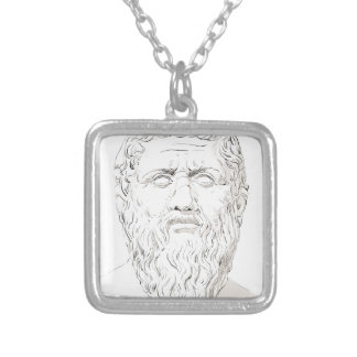 Plato Silver Plated Necklace