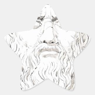 Plato Star Sticker