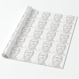 Plato Wrapping Paper