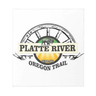 platte river ot marker notepad