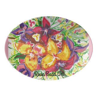 platter ,flowers