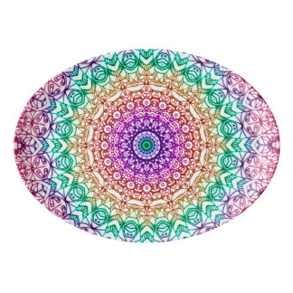 Platter Mandala Mehndi Style G379