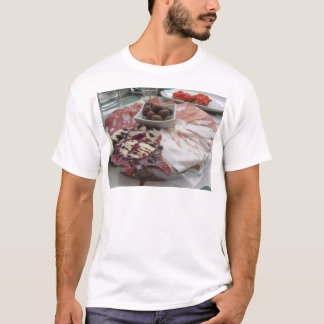 Platter of cold cuts with rustic ham prosciutto T-Shirt