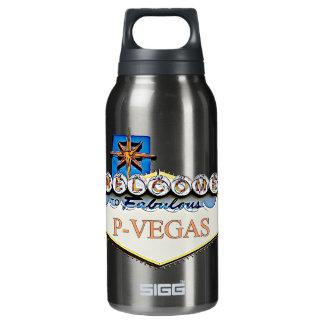 Platteville, Wisconsin P-Vegas Water Bottles