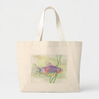 Platy.tif Large Tote Bag