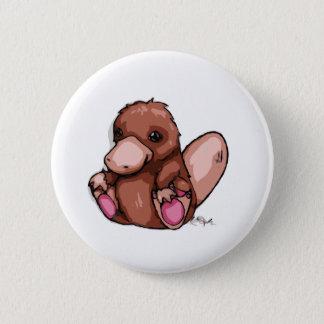 Platypus 6 Cm Round Badge