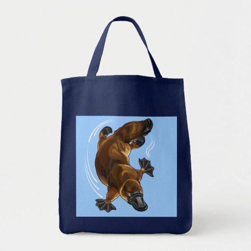 platypus canvas bag