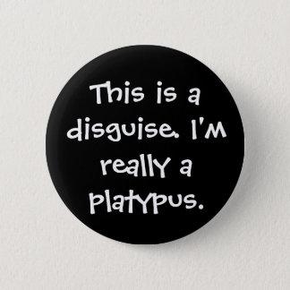 Platypus Costume 6 Cm Round Badge