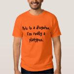 Platypus Costume Tee Shirt