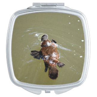 PLATYPUS & DRAGONFLY EUNGELLA AUSTRALIA MIRROR FOR MAKEUP
