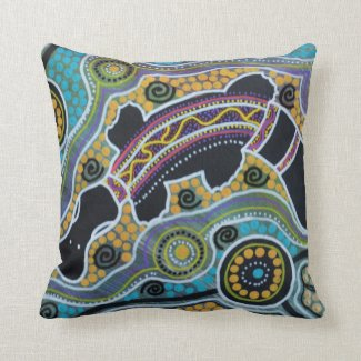 Platypus Dreaming Pillow Cushion