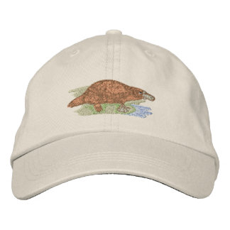 Platypus Embroidered Hat