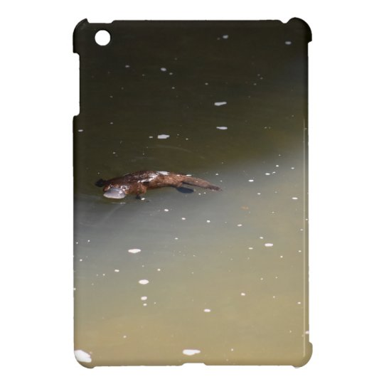 PLATYPUS EUNGELLA NATIONAL PARK AUSTRALIA iPad MINI COVER