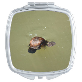 PLATYPUS EUNGELLA NATIONAL PARK AUSTRALIA MIRROR FOR MAKEUP