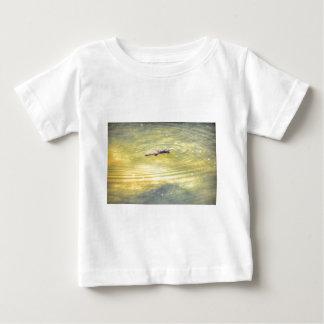 PLATYPUS IN WATER AUSTRALIA ART EFFECTS BABY T-Shirt
