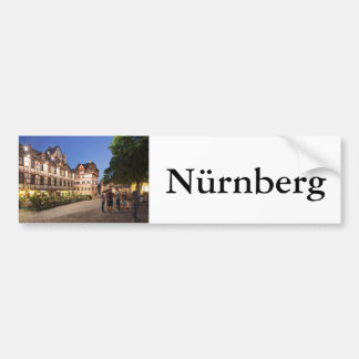 Platz am Tiergärtnertor, Nürnberg Bumper Sticker