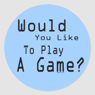 Play A Game Sticker