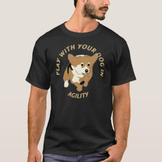 Play Agility - Corgi T-Shirt