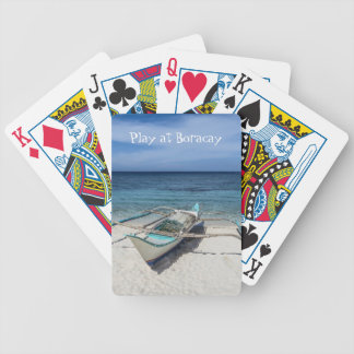 Play at Boracay Bicycle Playing Cards