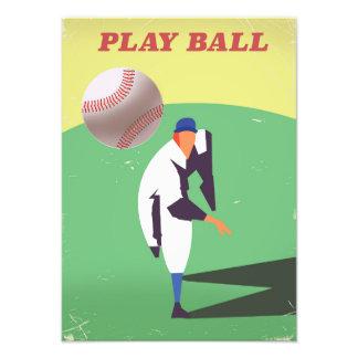 Play Ball! Photo Art