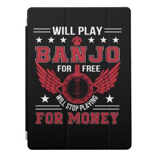 Play Banjo Frree Stop Playing Money Shirt iPad Pro Cover