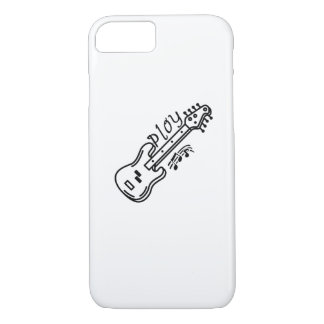 Play Bass Player Music Lover Bass Guitar Gifts iPhone 8/7 Case