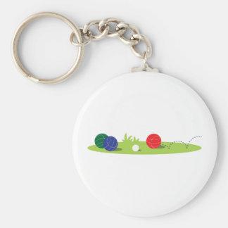 Play Bocce Key Ring