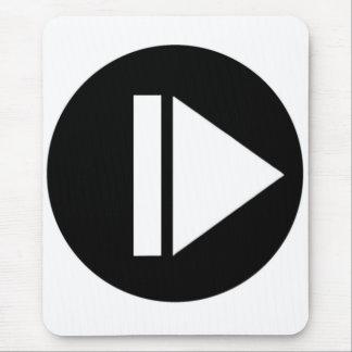 Play Button Mousepad Mousepad