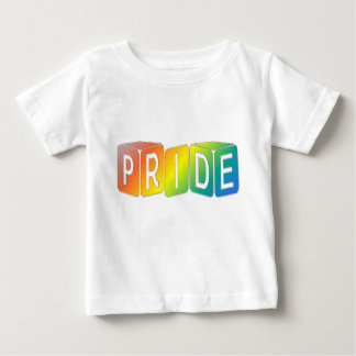 Play cubes Rainbow design Pride Baby T-Shirt