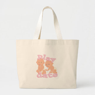 Play Date Large Tote Bag