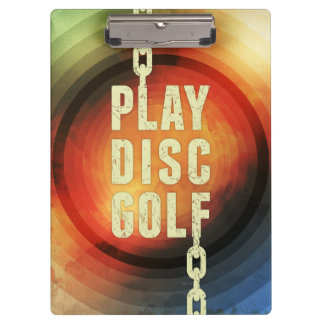 Play Disc Golf Clipboards