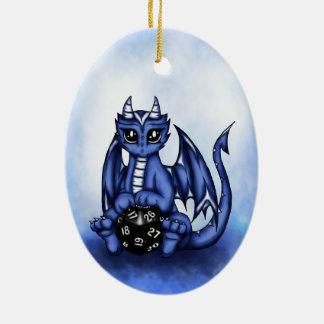 Play Dragon Ceramic Ornament