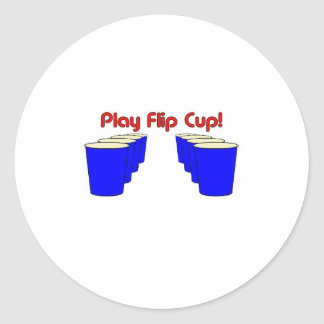 Play Flip Cup Stickers