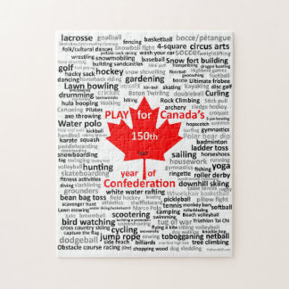 Play for Canada Jigsaw Puzzle