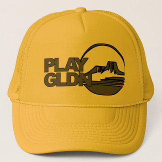 Play Golden #PlayGldn Hat - Gray on Gold