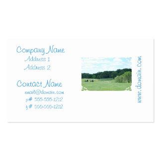 Play Golf Business Card Template