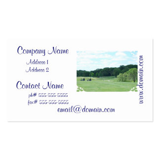 Play Golf Business Cards