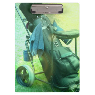 Play Golf Clipboard