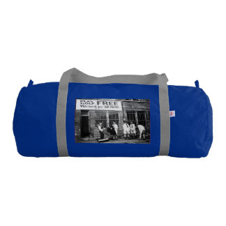 Play Golf Free (While Having Your Suit Pressed) Gym Duffel Bag