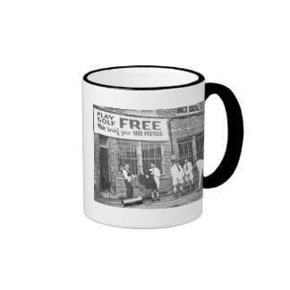 Play Golf Free (While Having Your Suit Pressed) Coffee Mugs