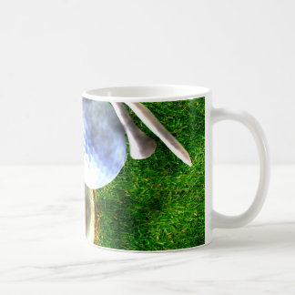 Play Golf Grunge Style Mug