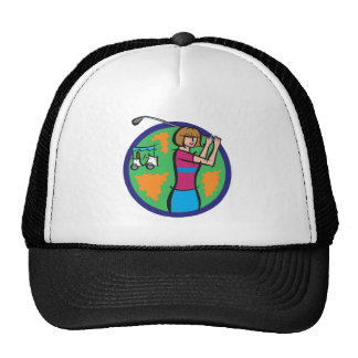 Play Golf Trucker Hat