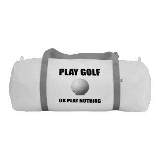 Play Golf Or Nothing Gym Duffel Bag