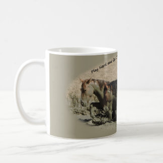 Play Hard and Get Dirty Sand Wash Basin Coffee Mug