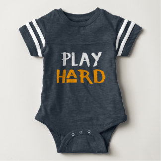 Play Hard Baby Suit Baby Bodysuit