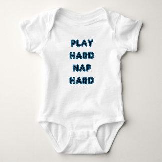 Play Hard Nap Hard Baby Bodysuit