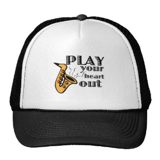 Play Heart Out Trucker Hat