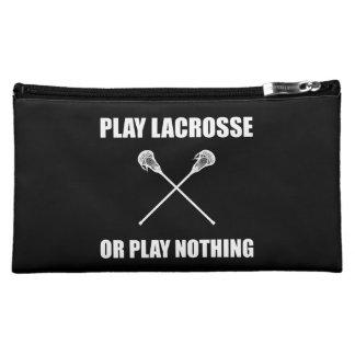 Play Lacrosse Or Nothing Makeup Bag
