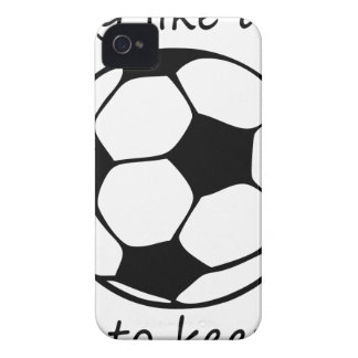 play like a girl3 iPhone 4 Case-Mate case